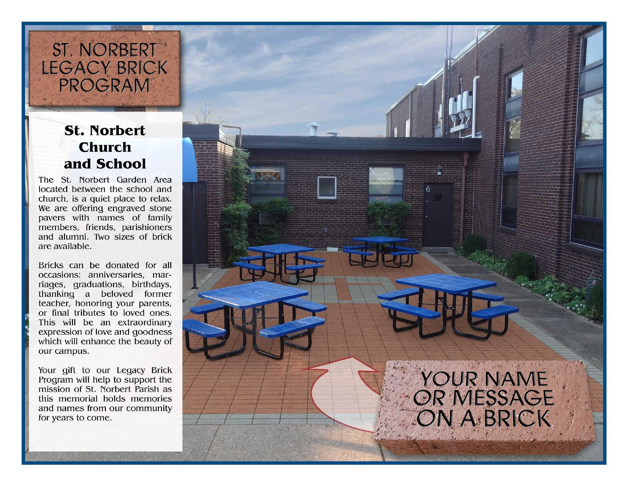 St Norbert Campus Map.St Norbert Giving